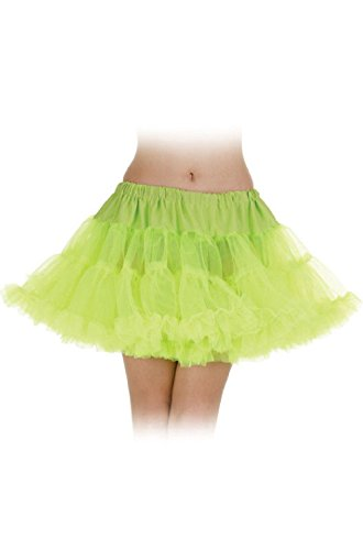 Tutu Skirt Ballerina Adult Womens Costume Crinoline 80'S Rave Disco Neon Colors - Recital Costumes Hip Hop