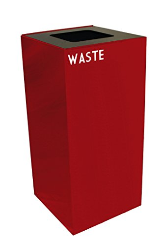 Public Recycling Container Square Steel - 5