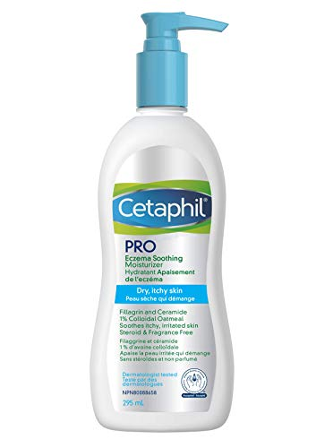 Cetaphil Pro Restoraderm Gentle Body Moisturizer,  Eczema Calming, 10-Fluid Ounces