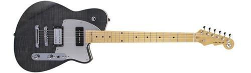 t W 20th Anniversary Maple Fingerboard Electric Guitar Black Flame Maple (Korina Wood Guitar)
