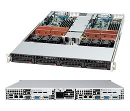 Supermicro SuperServer 6015TC-10GB Barebone System SYS-6015TC-10GB