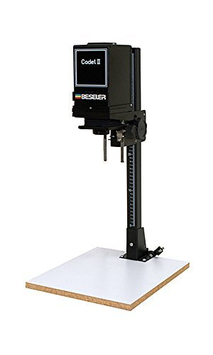 Beseler Cadet II 35mm Film Enlarger with Lens and Negative Carrier (Black and White)
