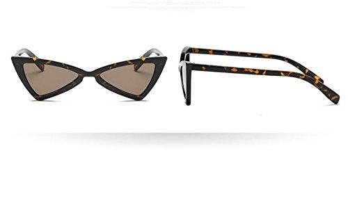 QILEGN viajes sol retro exteriores de para estilo UV400 Gafas mujer para negro triangulares color w11qaSxR