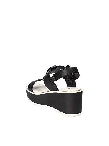 Gaudi V83-65872 Sandales Compensées Femmes Noir msvFD4mIq