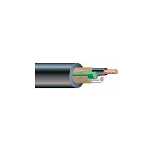 Electric Locomotive Type - 500' 4A-1808 18 AWG 8 Conductor 600V Stranded BC EPR/CPE SOOW UnShielded Cable