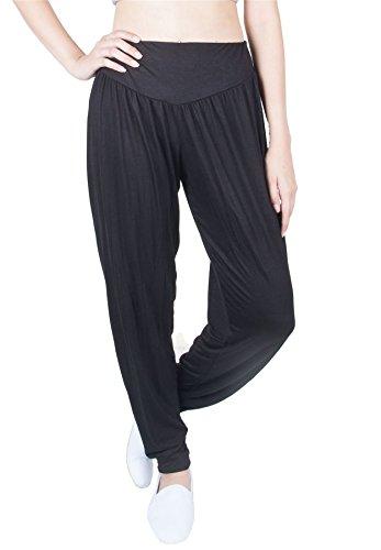 Lofbaz Womens Premium Fair Trade Soft Modal Yoga Pilates Harem Pants Dance