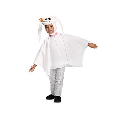 Disguise Zero Classic Toddler Child Costume, White, Size/(2T)