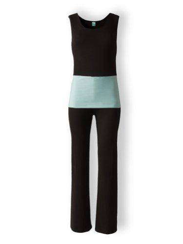 Traje de deportes para mujer para yoga, pilates, fitness (Uni) Yoga Traje, Yoga Ropa, Wellness Traje, Hogar Traje beige