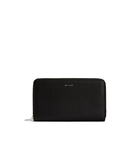 Matt & Nat Trip Dwell Large Travel Wallet, Black