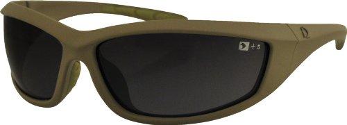 4014128 Bobster Zulu Ballistics Eyewear-Tan Frame-Anti-Fog - Sunglasses Ballistic Military