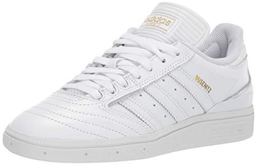 adidas Originals Men's Busenitz Sneaker, Gold Metallic/White, 11 M US (Adidas Sneakers Men White)