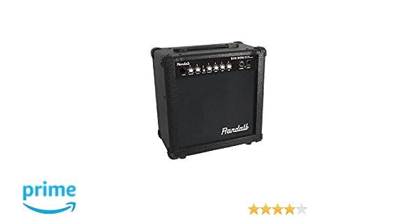 Randall usm-rbd25te amplificador combo para guitarra eléctrica 25 W: Amazon.es: Instrumentos musicales