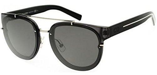 New Christian Dior BLACK TIE 143S transparent dark grey black/dark grey Sunglasses (Mens Tie Dior Christian)