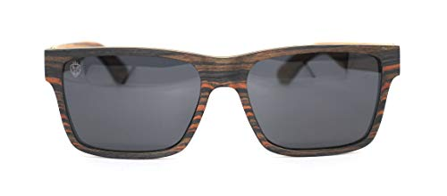 Óculos De Sol De Madeira Gambino, MafiawooD