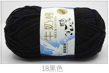 Knitting Yarn - 50g/pc Winter DIY Soft Milk Cotton Yarn Baby Wool Yarn for Knitting Hand Knitted Blanket Sweater Scarf Doll Crochet Yarn