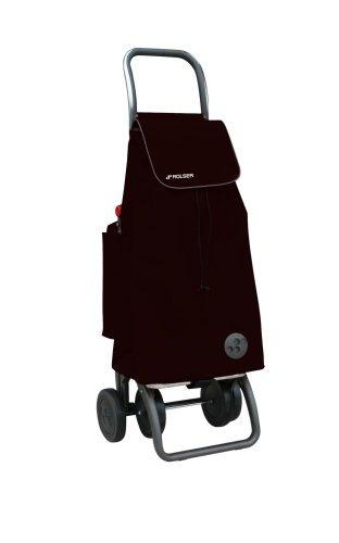 Rolser - Carro Compra Pac018Negro, Bolsa Termica Desmontable Para Uso Por Separado, 39,