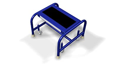 Tri-arc Wlsr001163-wm Pilot One-step Mobile Steel Step Stand from Tri-Arc Manufacturing Company