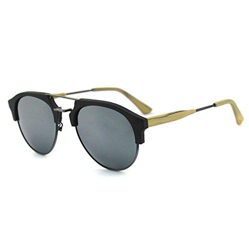 viaje de azul gafas madera C99 libre de al hombres los C13S Zhangxin de Gafas sol verde grano sol aire ocio película de polarizadas pw0Sq15