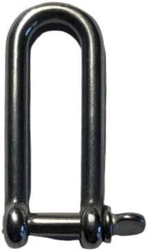 Stainless Steel 316 D Shackle Marine Grade 5//8 Dee