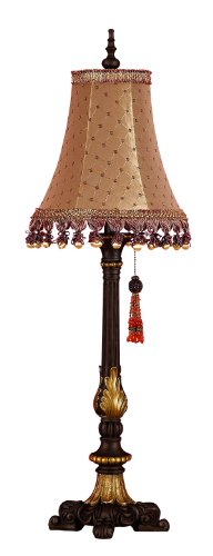 Deco 79 Polystone Table Lamp