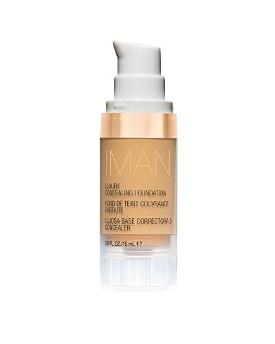 IMAN Cosmetics Concealing Foundation, Light Skin, S and 3
