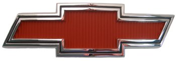 67-68 GMC/Chevy Truck BOWTIE GRILLE EMBLEM, RED,