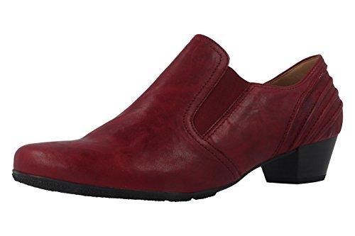 Gabor 55.401.55 - Zapatos de vestir de Piel para mujer Rojo rojo