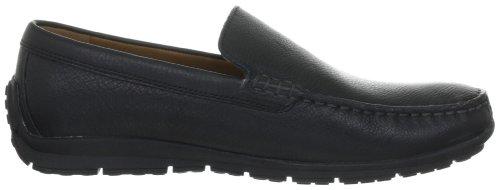 Geox UOMO LORD U9313V00046C9999 - Zapatos de cuero para hombre Negro