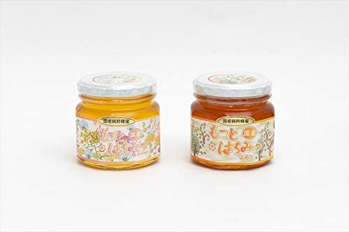 【国産純粋ハチミツ・養蜂園直送】百花蜂蜜 山蜂蜜 各300g