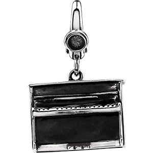 Piano en argent sterling Charme