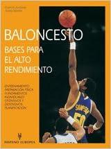 Baloncesto / Basketball: Bases Para El Alto Rendimiento ...