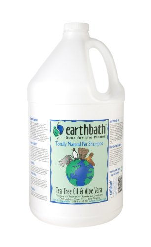 Earthbath Tea Tree and Aloe Concentrated Shampoo, 1-Gallon, My Pet Supplies