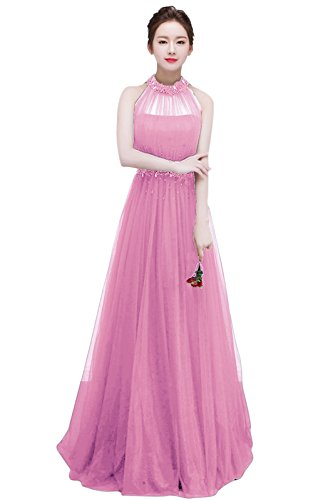 Para Vestido 46 Pink2 Vimans Trapecio Rosa Mujer H4TvTEgq