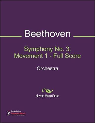 Symphony No. 3, Movement 1 - Full Score Sheet Music