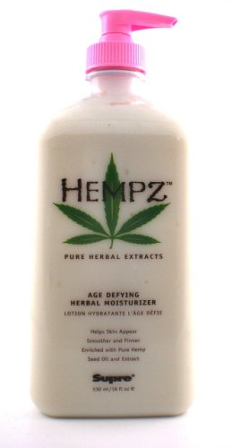 Supre Hempz Supre Herbal Moisturizer, 18 oz Derma E, Firming DMAE Moisturizer, with Alpha Lipoic and C-Ester, 2 oz(pack of 2)