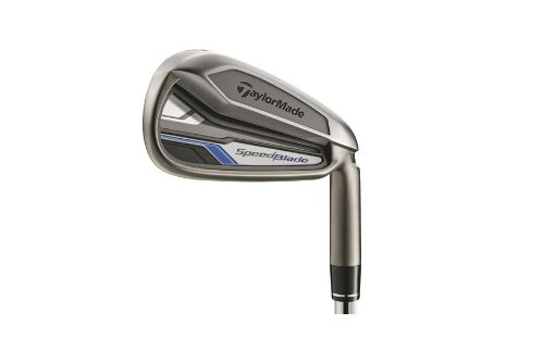 TaylorMade Men's SpeedBlade Golf Iron, Right Hand, Steel, Stiff, SW (Adidas Level Next Speed)