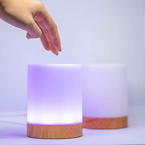 Set of Two Long Distance Friendship Lamps