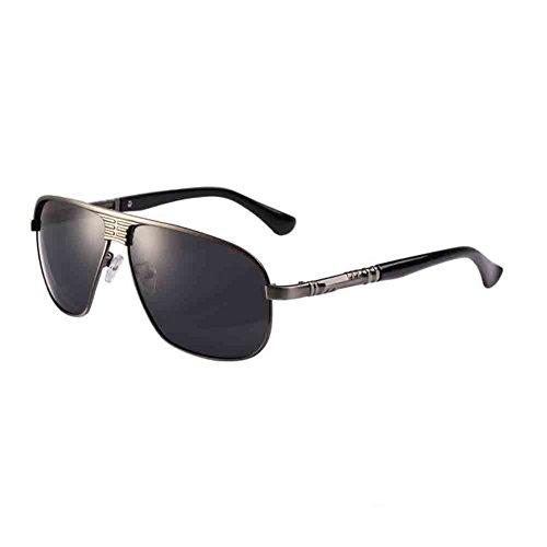 anti Gun HD HONEY Color durable en soleil lentille Polarized inoxydable de Gold conduite cadre Grey déflagrant Hommes Sunny acier et Vintage lunettes tea léger Couleur nOqw4gqFI