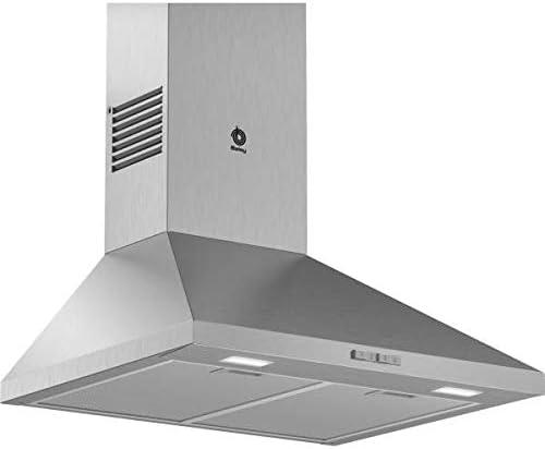 Balay 3BC664MX - Campana (360 m³/h, Canalizado/Recirculación, E, A, C, 66 dB): 127.05: Amazon.es: Grandes electrodomésticos