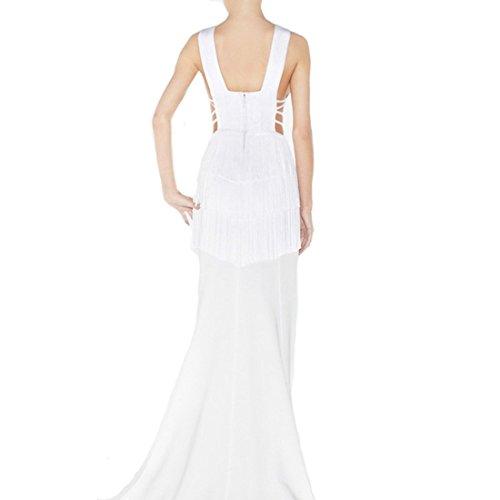 HLBCBG HLBCBG Kleid Weiß Damen Weiß Damen 4H7P0n8
