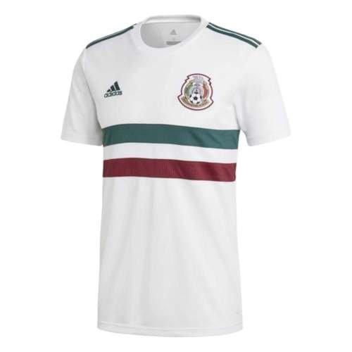 adidas 2018-2019 Mexico Away Football Shirt Adult Away Replica Jersey