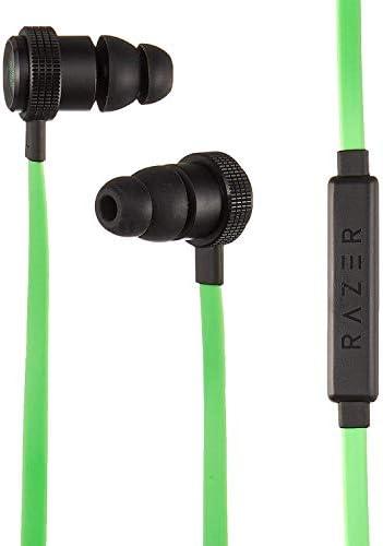 [해외]Razer Hammerhead Pro v2 Earbuds: Custom-Tuned Dual-Driver Technology - In-Line Mic & Volume Control - Aluminum Frame - 3.5mm Headphone Jack - Green / Razer Hammerhead Pro v2 Earbuds: Custom-Tuned Dual-Driver Technology - In-Line Mi...