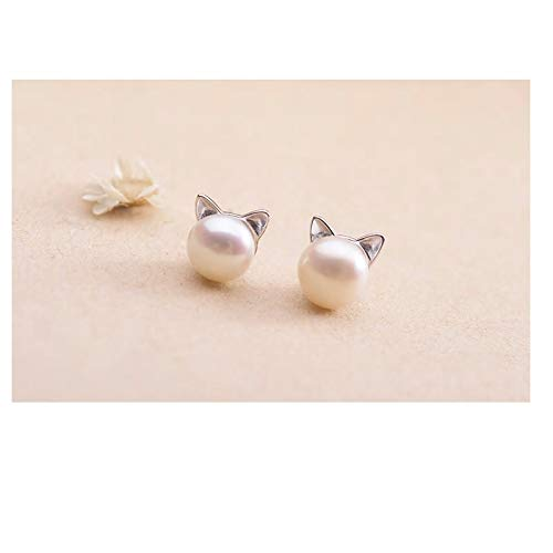 Gerties Goods Fashion Earring Collection Pearlesque Cat Ears