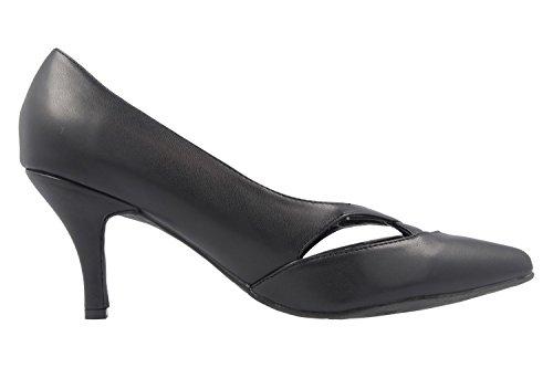 Andres Machado - Zapatos de vestir de Material Sintético para mujer negro negro