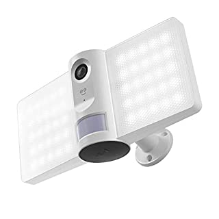 Geeni, Sentry Floodlight Security Camera with Motion Sensor, Intruder Alarm and Audio Video Recording