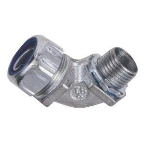 3/4'' 90° Steel Liquid Tight Connector