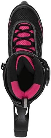 Rollerblade Inline Bladerunner Advantage Pro XT Women's Adult Fitness Skate Black Pink Skates
