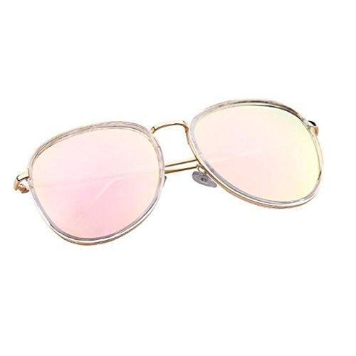 HOME Vintage la Sol de Gafas Moda de luz Personalidad Tamaño Harajuku polarizada Playa 5 de Elegante QZ dxUgq6wd