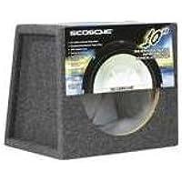 Scosche Se1010-Inch Sealed Subwoofer Enclosure