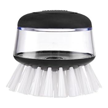 Amazon Com Farberware Soap Dispensing Palm Brush Black
